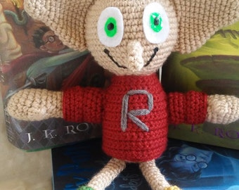 Dobby Harry Potter Amigurumi : Dobby doll Etsy