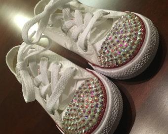 Rhinestoned Converse Sneakers