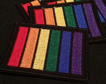 LGBTQ Pride Flag Embroidered Patch