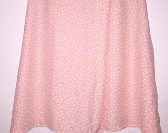 90s High Waist Wrap Skater Skirt