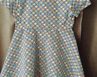 Girls short-sleeve dress