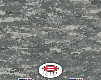 "Digital Military 15""x52"" or 24""x52"" Truck/Pattern Print Tree Real Camouflage Sticker Roll or Sheet"