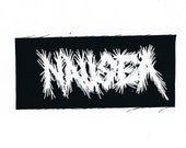 Nausea Band Logo Patch Crust Punk Thrash Metal Patches