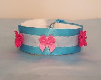 Blue Spring Pet Collar