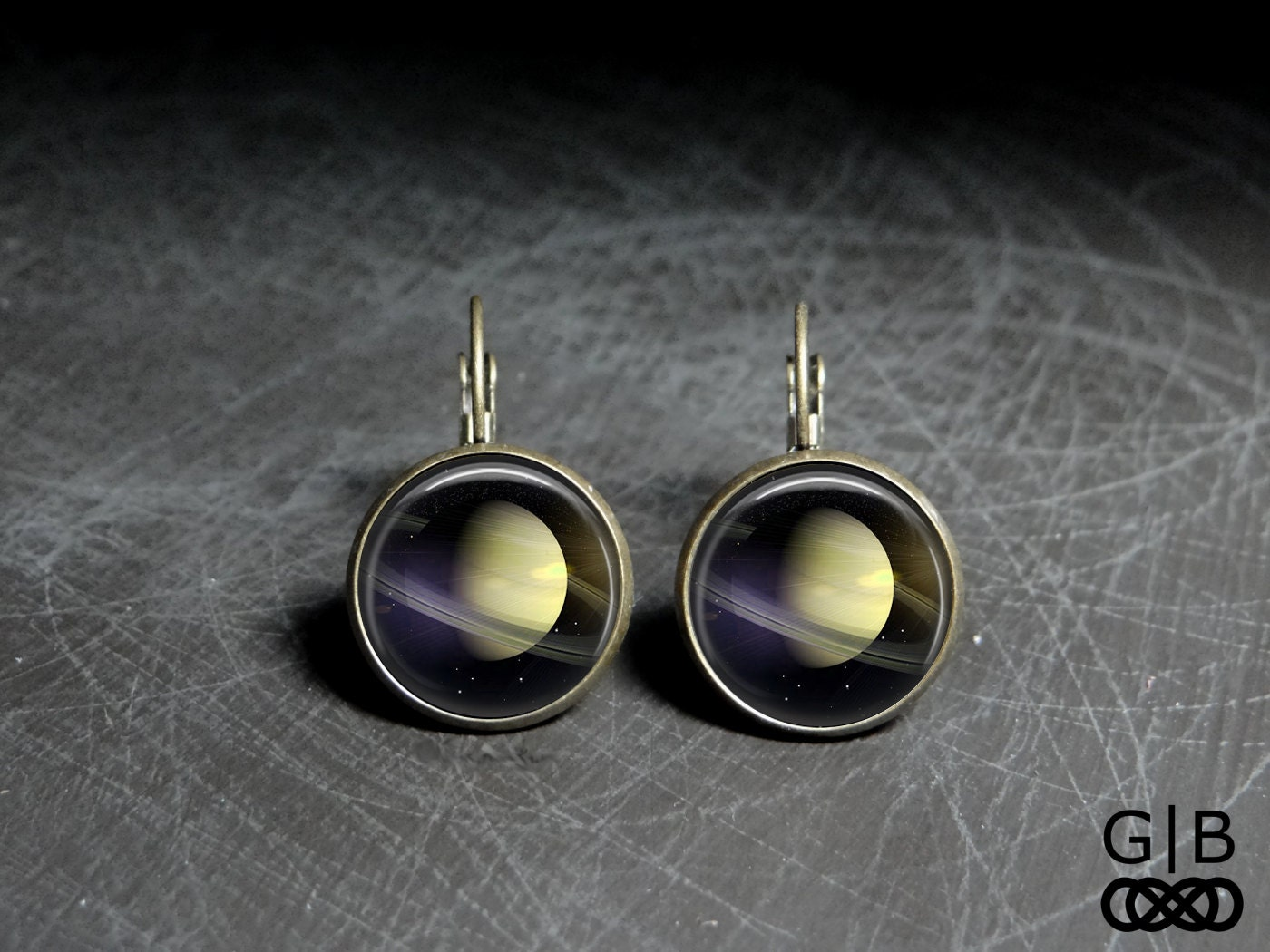planet saturn earring - photo #23