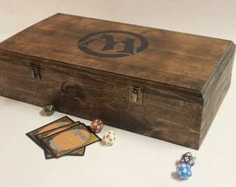 MTG Painted Sturdy Deck Box