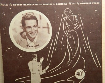 Vintage Sheet Music for 'It' Perry Como