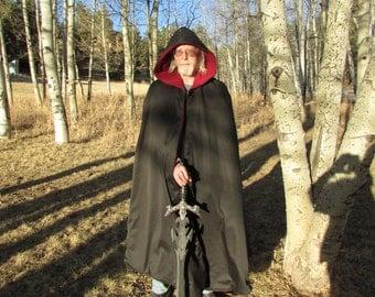 Waterproof full length Cloak, SCA, LARP, Renaissance