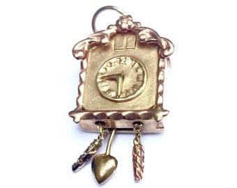 Cuckoo Clock Charm/Pendant