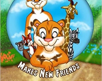 Charlie the Tiger Cub Mkes New Friends