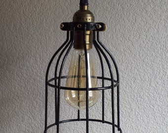 Cage Pendant Light