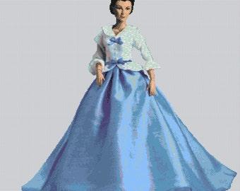 Elegant Lady #118 Cross Stitch Chart