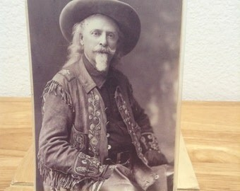 Vintage Buffalo Bill Post Card Willim F Cody Collectible Post Card