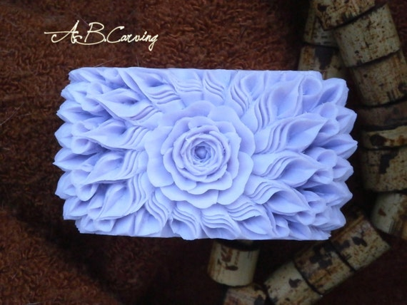 Carving bar soap hand carved thai by