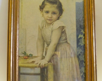"William-Adolphe Bouguereau ""Yvonne"" Print 1896"