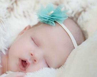 Baby Headbands - Baby Girl Headband - Newborn Headband - Baby Flower Headbands - Baby Girl - Headbands - Infant Headband - Baby - Headbands