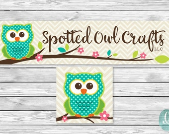 OOAK Custom Designed Etsy Cover Photo And Shop Icon Avatar | New Etsy Banner Cover Layout | Graphic Design Shop Branding Unique Professional