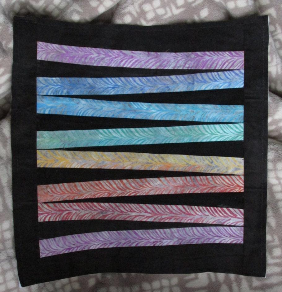 ZigZag Bars Paper Piecing Quilt Block Pattern