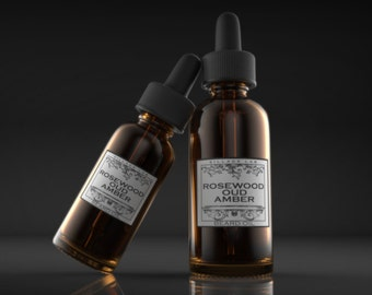 Rosewood Oud Amber,  beard oil, tonic, all natural