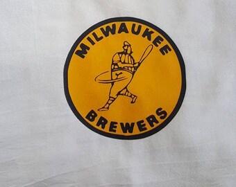 Old School Brewers Kitchen Tea Towel