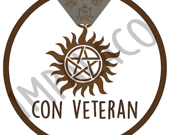 Con Veteran Badge
