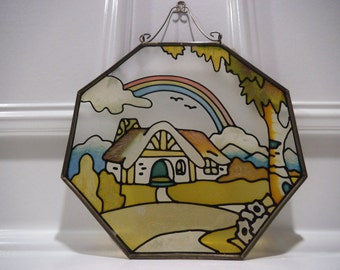 House Peisage Stained Glass