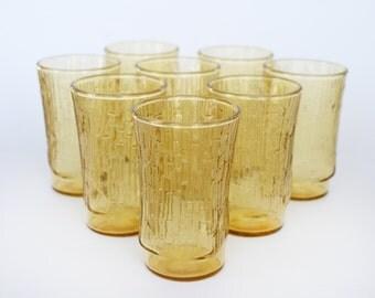 Vintage Mid Century Juice Glasses - Set of 8