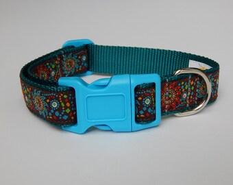Magic Sun Dog Collar, Sun Dog Collar, Multicolor Dog Collar, Adjustable Dog Collar,  Boy Dog Collar