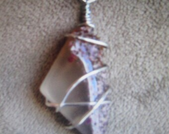 Hand wrapped Gemstone