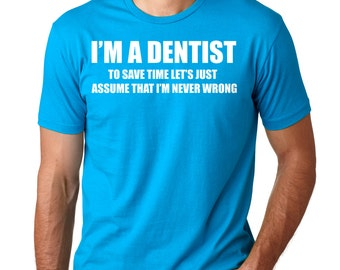 Dentist T-Shirt Gift For Dentist Dentistry Oral Surgery Tee Shirt DDS