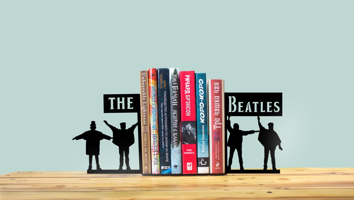 Handmade The Beatles Bookends Room Decor Birthday By