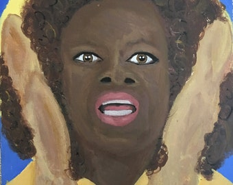St. Oprah of Bread - Giclee on Canvas