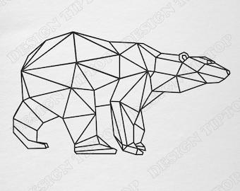 Geometric Animal Etsy