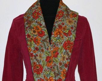 Autumn Scarf Sheer