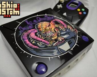 Unique Resident Evil 3: Nemesis themed SEGA Dreamcast custom console