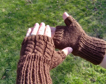 Fingerless Fashion Mitts