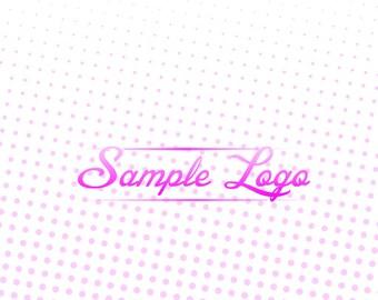Bright, Pink, Wavy Logo!