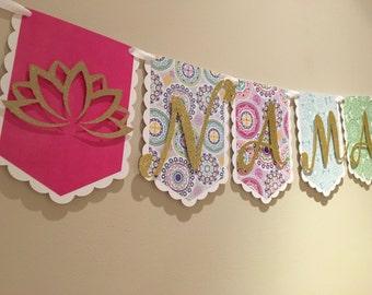 Yoga Namaste Zen Banner