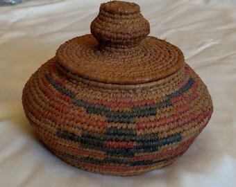 Alaska Hand Made Grass Basket - Made by me