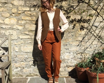 Russet Brown Trousers size 10