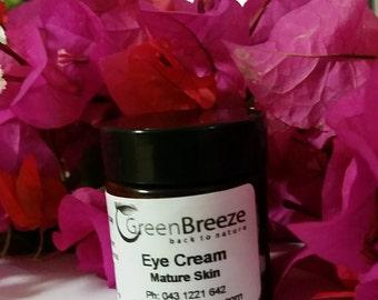 Eye cream for Puffy or dark circles under eyes - natural organic homemade