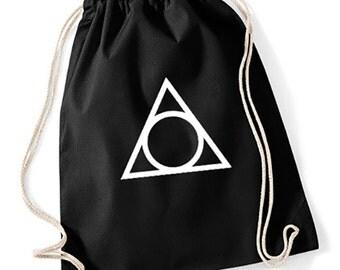 Gym Sack Triangle Circle