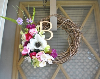 Small Initial Wreath
