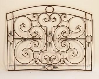 Vintage Architecture - decorative wrought iron gate