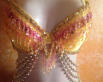 Fancy Exotic Belly Dance Bra