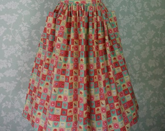 """Patchwork pocket skirt 31""""~ 32"""""""