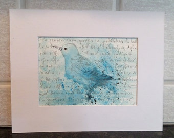 Original Art, Bird bath