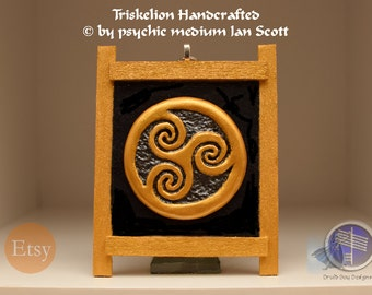 Celtic Triskelion Symbol Wall Hanging