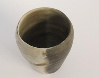 Smoke Fired Sculptural cup