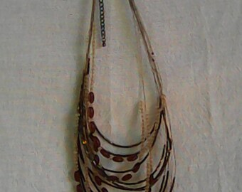 Hand Made Multi Strand Necklace